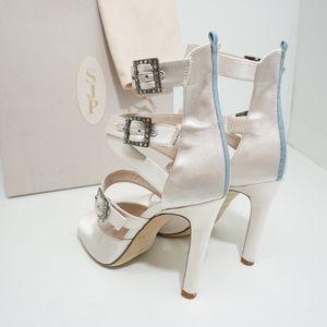 SJP by Sarah Jessica Parker Shoes - 🆕SJP Sarah Jessica Parker Fugue White Satin